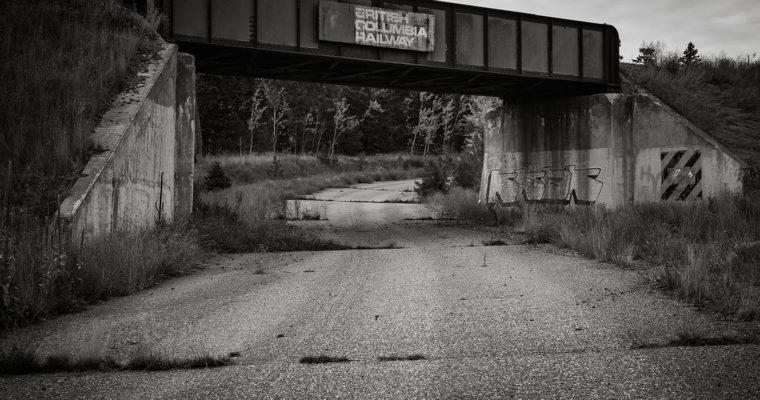 Old Rail Bridge – Highway 97